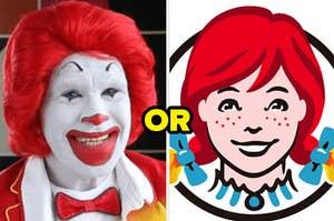 Ronald McDonald or Wendy