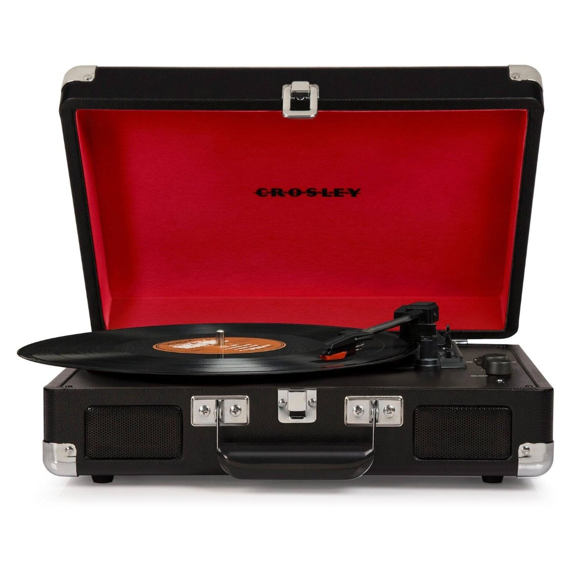 The Crosley Cruiser Deluxe record player in black