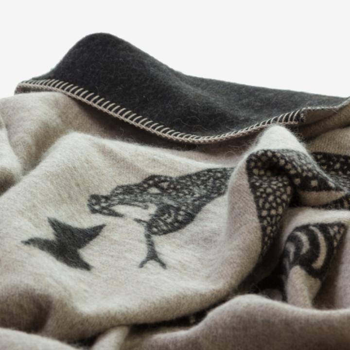 the blanket closeup