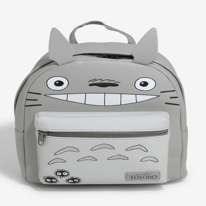 A backpack shaped like Totoro