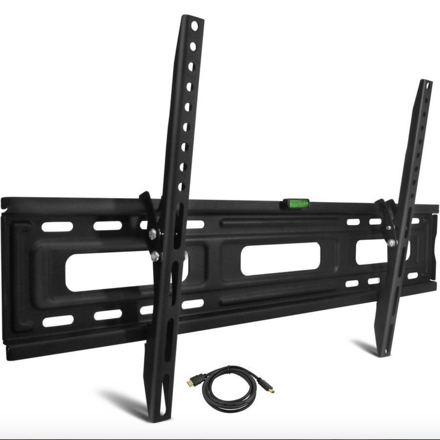 The tilting TV mount in black
