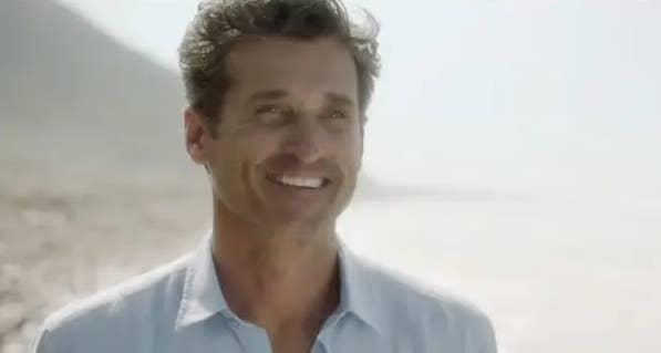 Patrick Dempsey on Grey's Anatomy