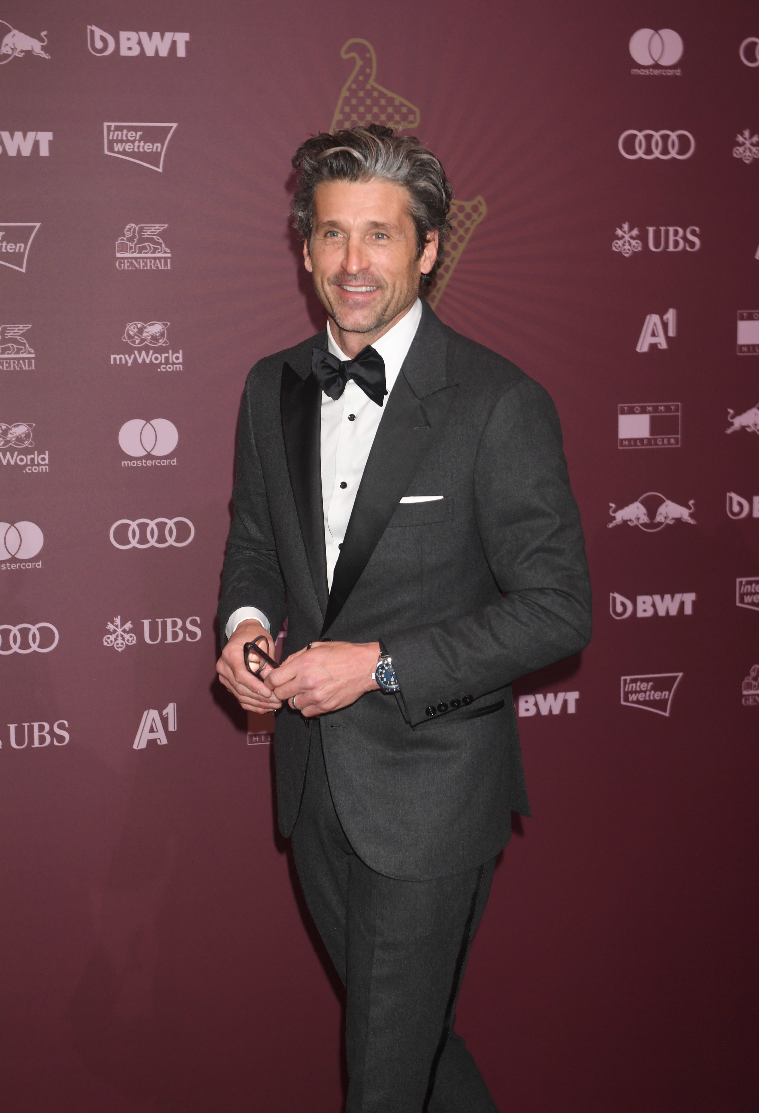 American actor Patrick Dempsey attending the Kitz Race Party 2020