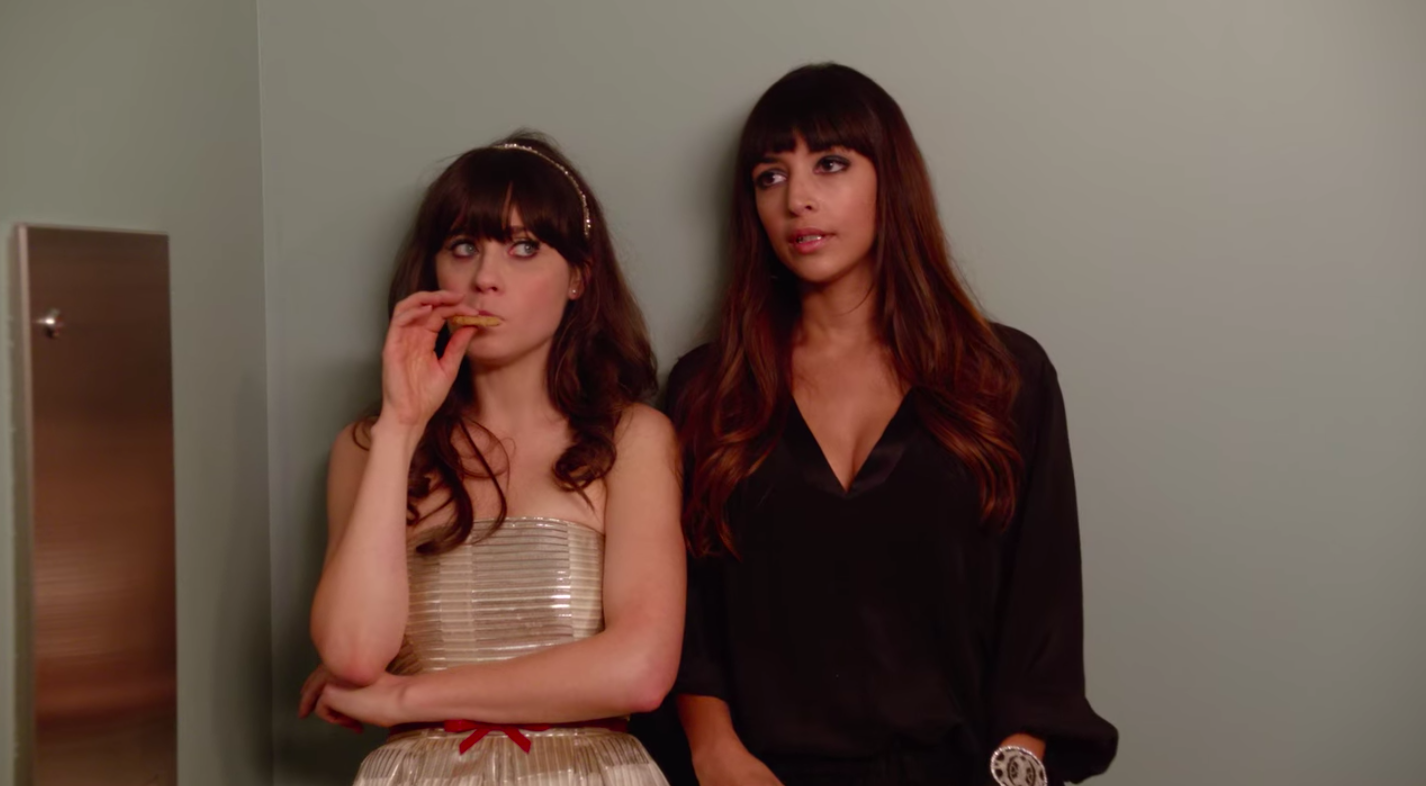 A still of Jess and Cece in New Girl