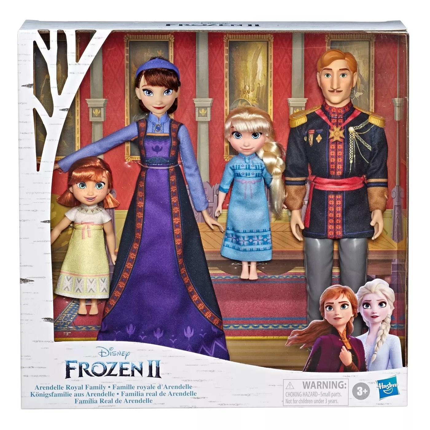 The Frozen II Arendelle royal family