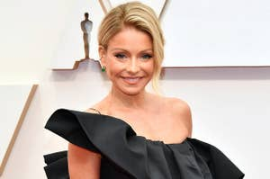 Kelly Ripa smiling