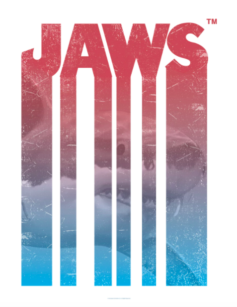 """the ocean """"jaws"""" movie poster"""