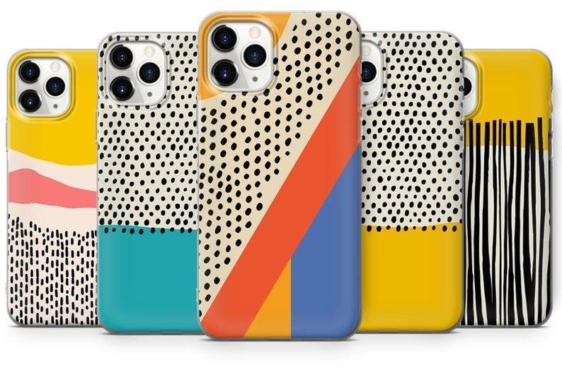 Five Polka Dot Phone Cases