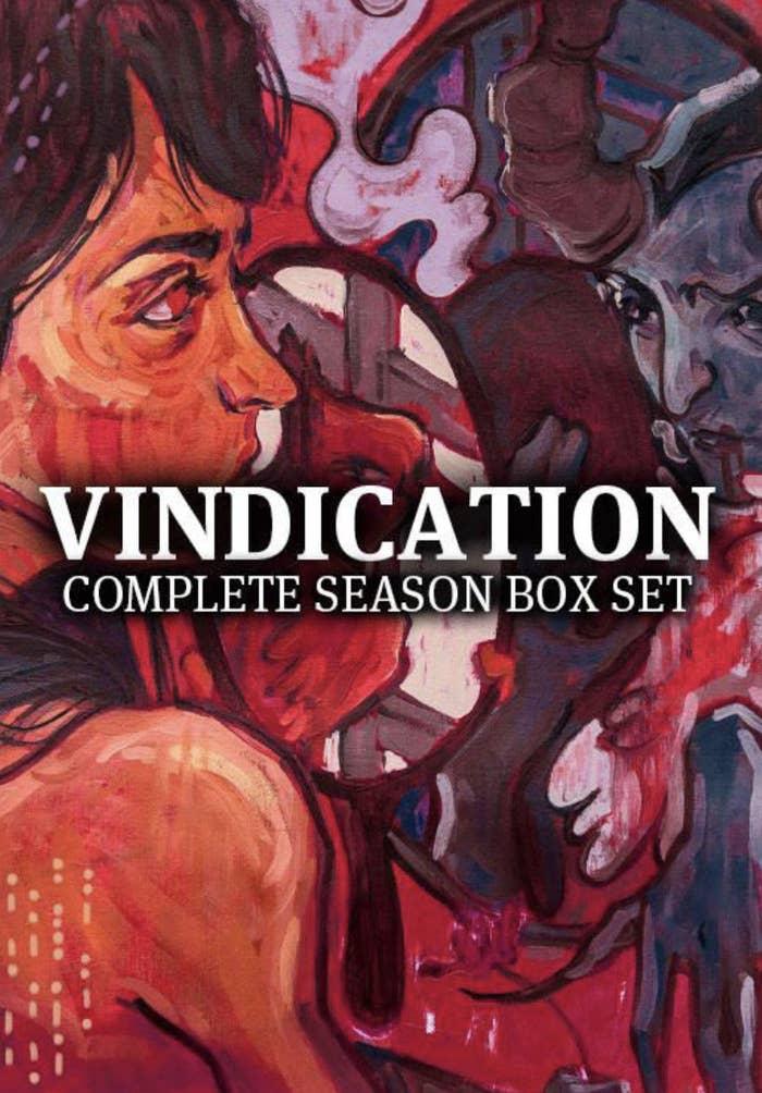 "Front of ""Vindication"" box set"