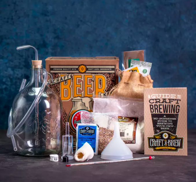 The complete holiday ale brewing kit