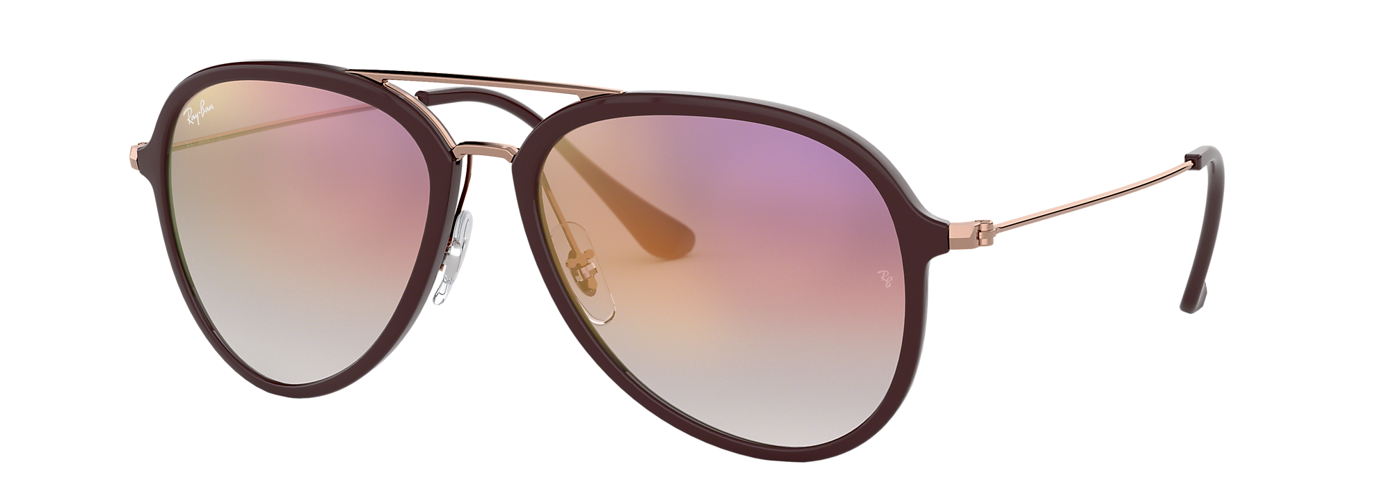 A pair of Ray-Ban aviators
