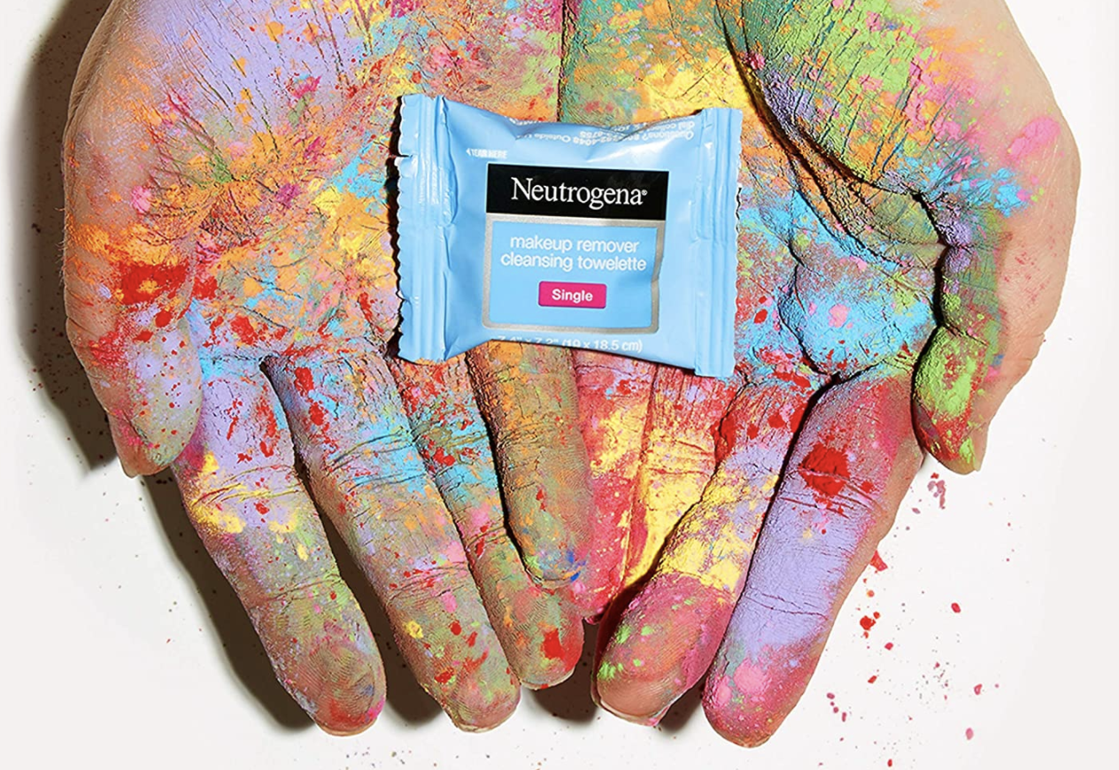 Neutrogena makeup remover wipe individually wrapped