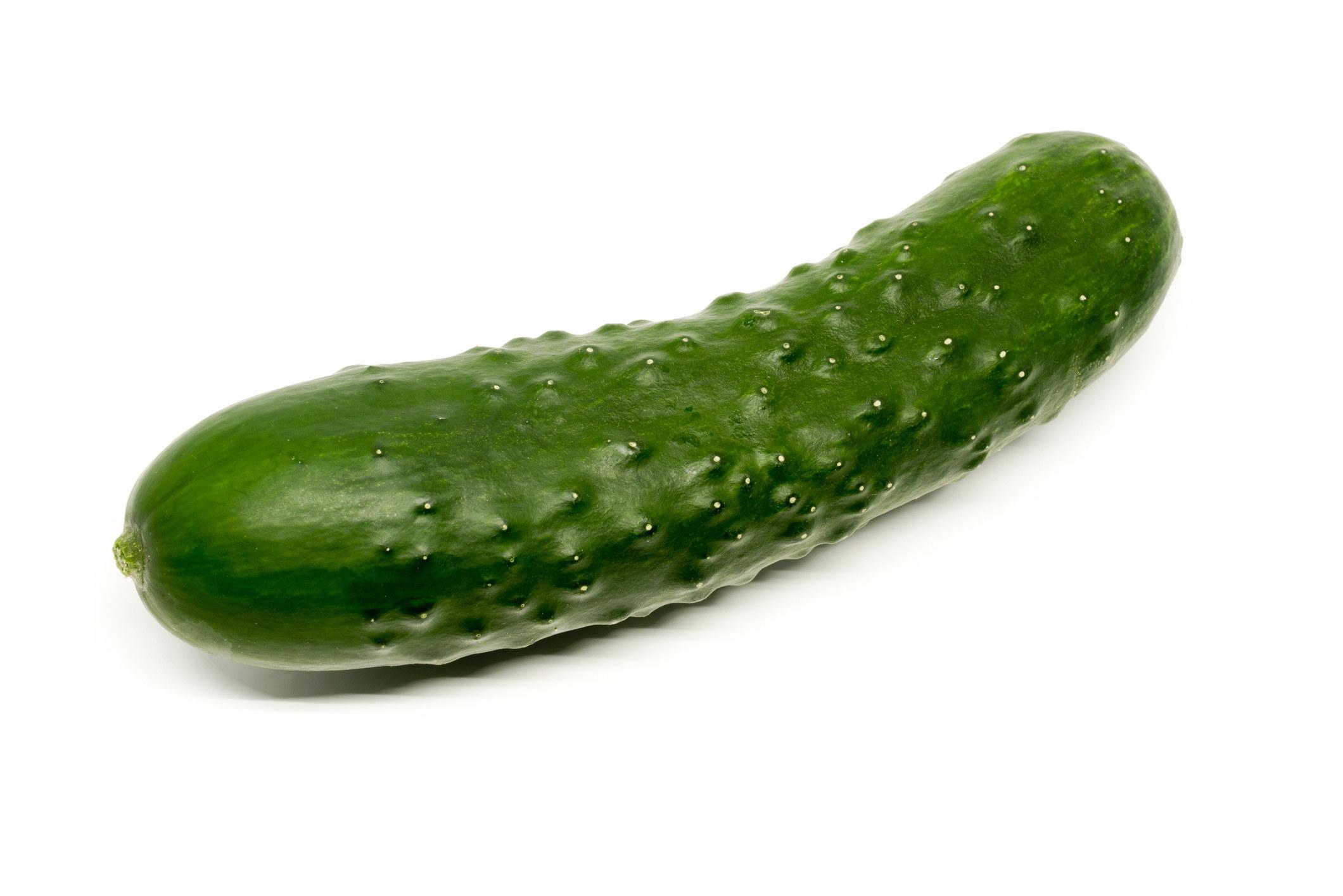 A large cucumber