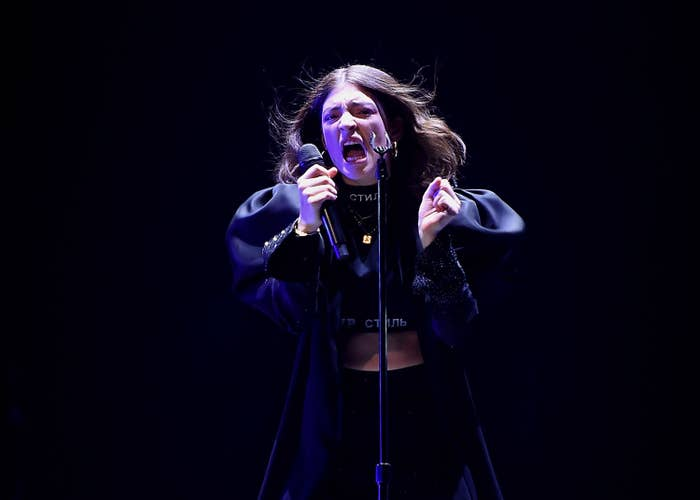 Lorde Performs at Melodrama World Tour at Barclays Center in New York City