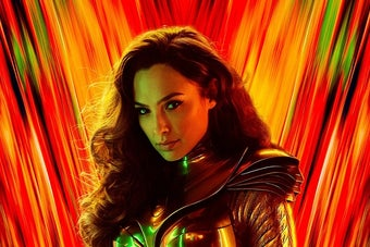 WONDER WOMAN 1984, US character poster, Gal Gadot as Diana Prince / Wonder Woman, 2020