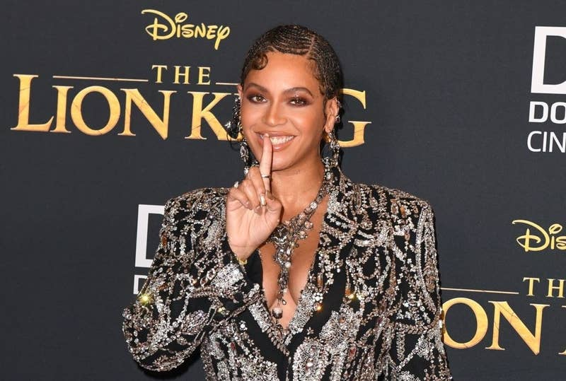 """Beyoncé at the 2019 premiere for """"The Lion King"""""""