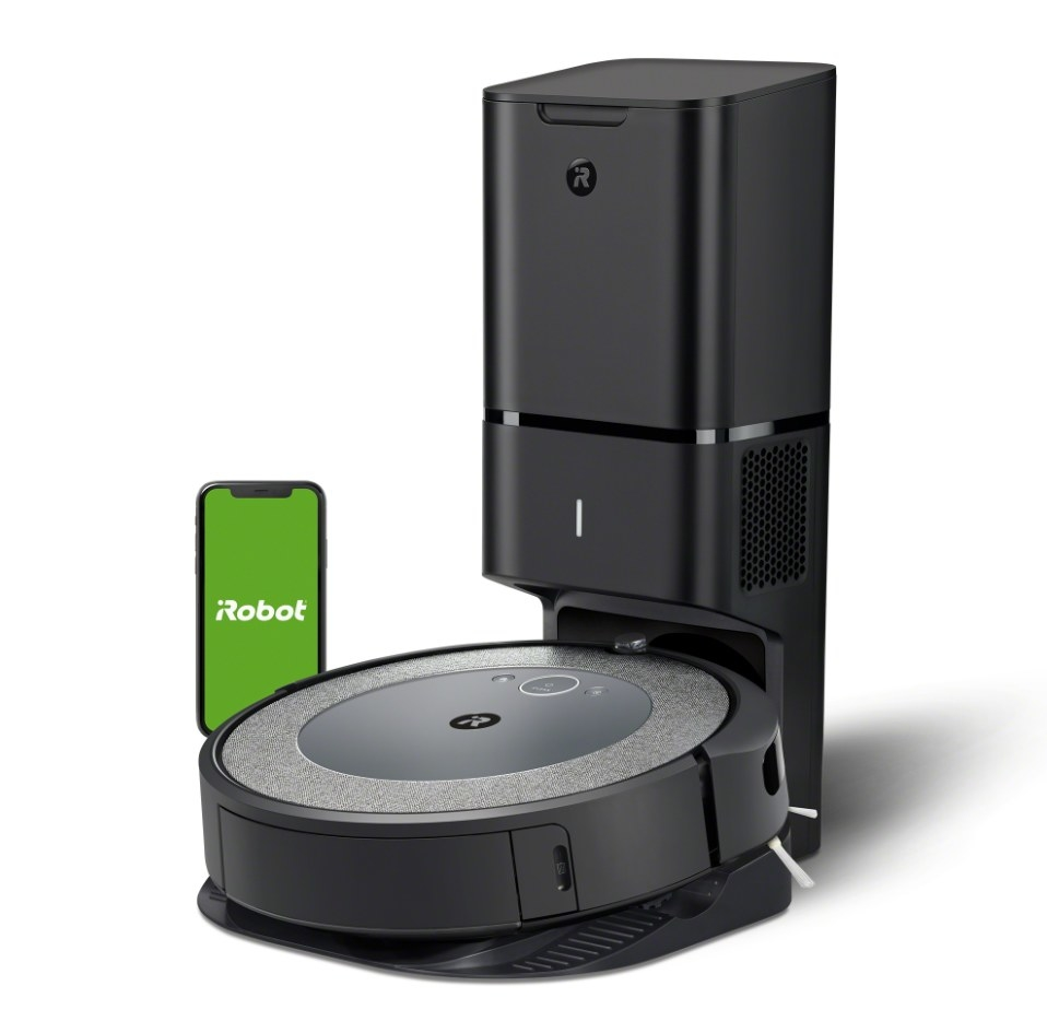 The iRobot Roomba i3+ with wifi control