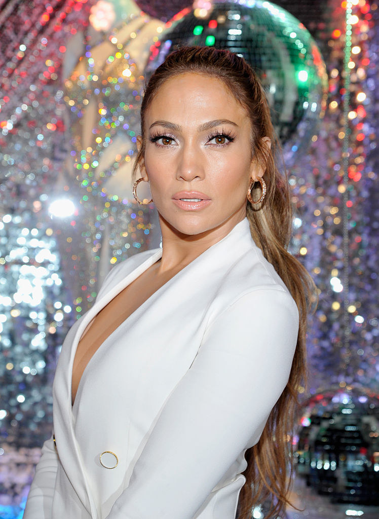 Jennifer Lopez attends the Giuseppe for the J.Lo launch at Neiman Marcus in the late 2010s