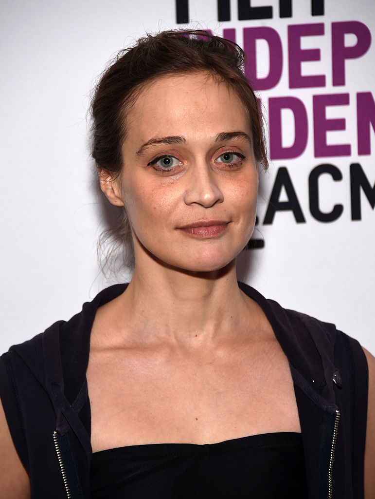 "Fiona Apple on a red carpet for ""Dr. Strangelove"" in 2016"