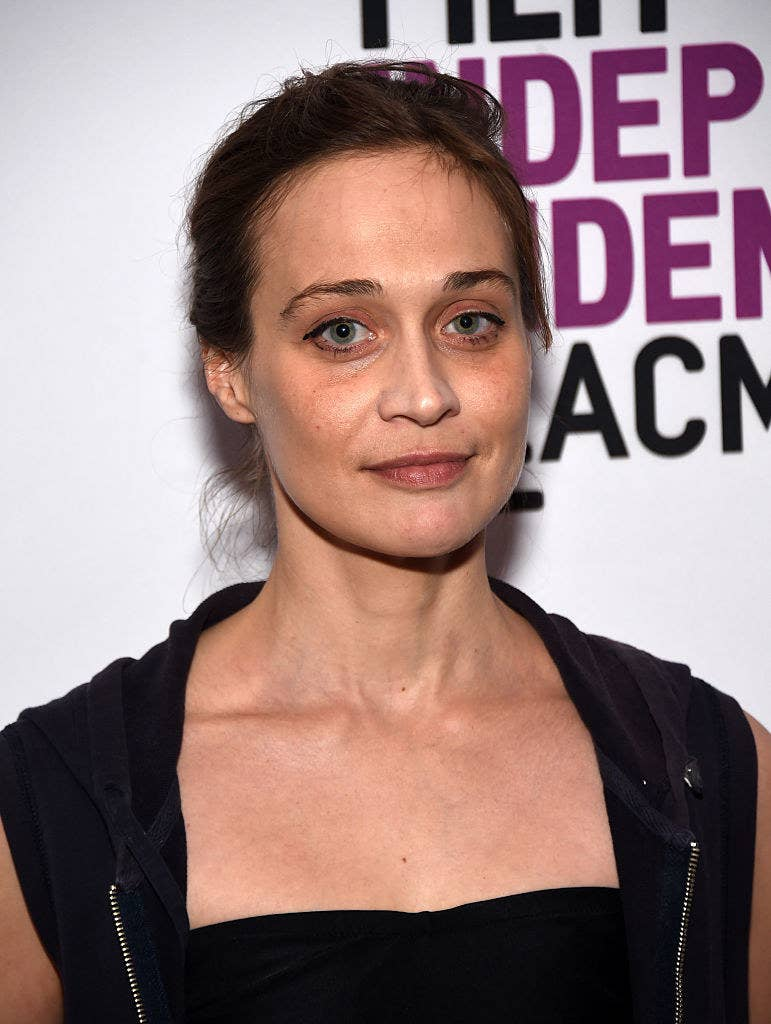 """Fiona Apple on a red carpet for """"Dr. Strangelove"""" in 2016"""