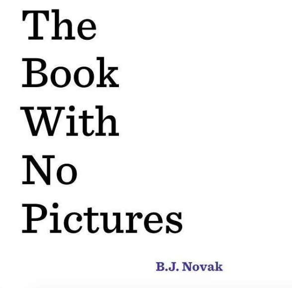 White book cover with black lettering