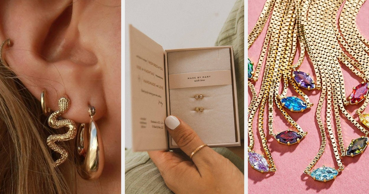 38 Gorgeous Pieces Of Jewelry That'll Make Perfect Gifts