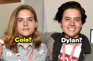 Dylan and Cole Sprouse with