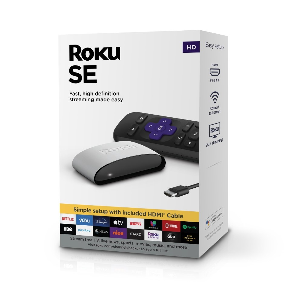 The Roku streaming media player