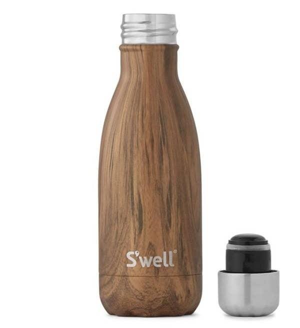 tik ağacı yalıtımlı paslanmaz çelik şişe