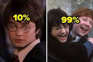 10 and 99% potterhead labels