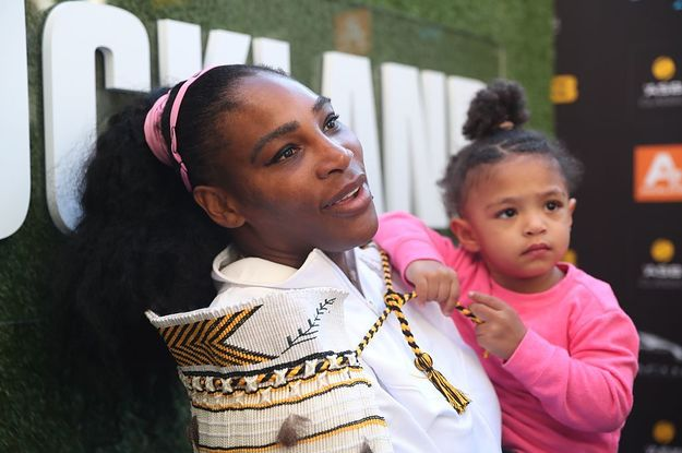 Serena Williams Released A Jewelry Collection Inspired By Her Daughter, And Her Message For Moms Is So Important