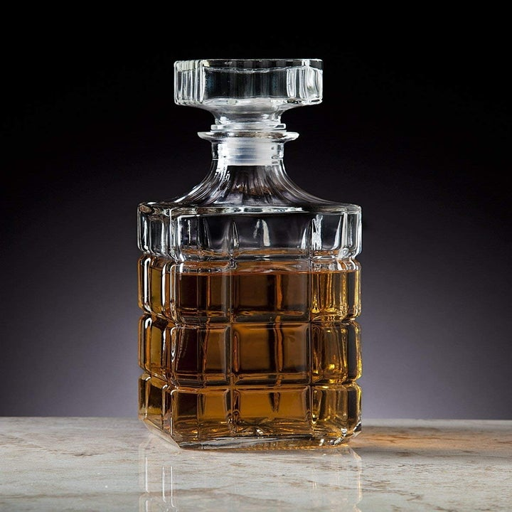 art deco style liquor decanter