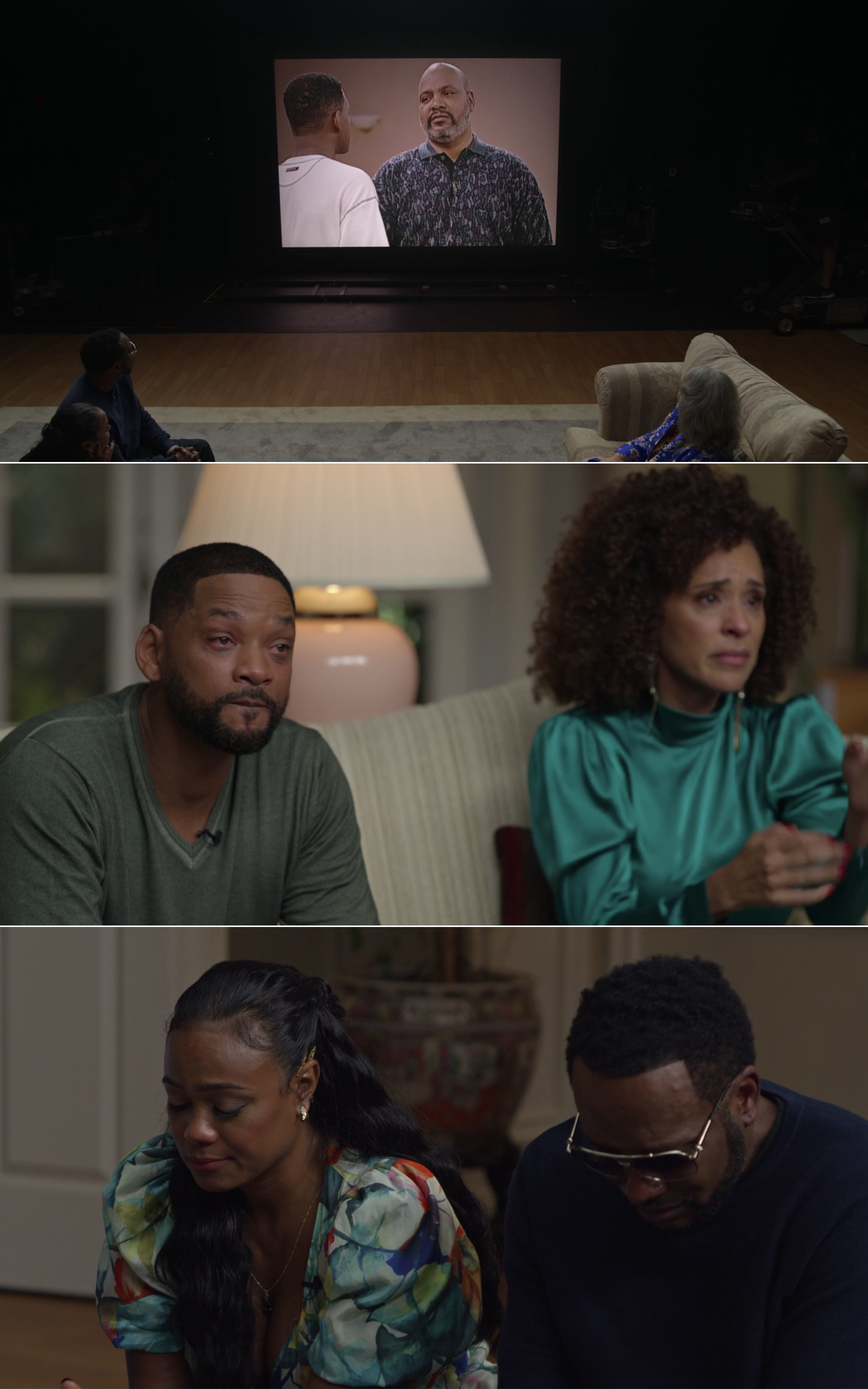 The Fresh Prince of Bel-Air cast crying after watching clips of James Avery