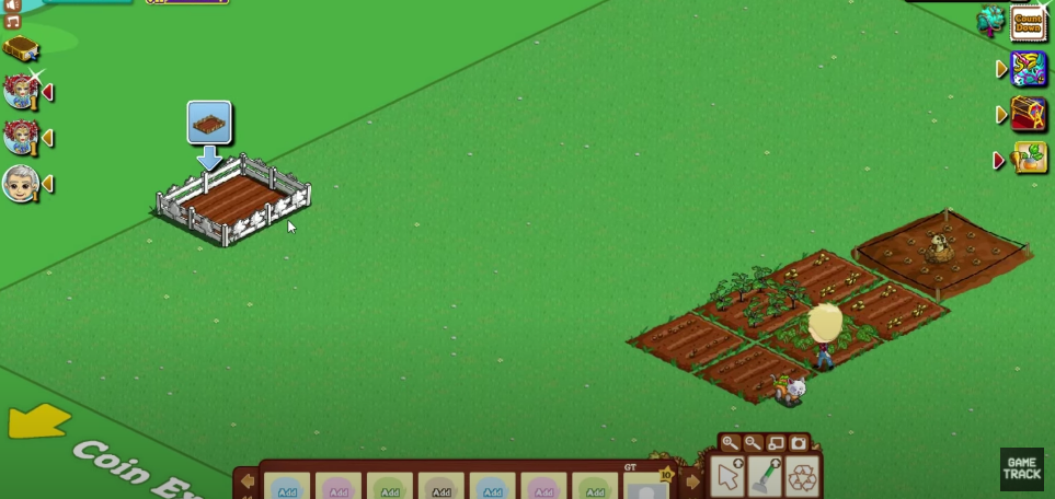A screenshot of the FarmVille game