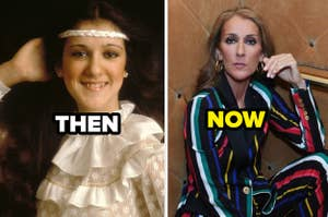 Celine Dion in the '70s versus the late 2010s