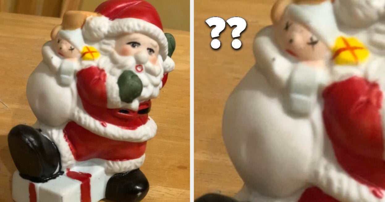 15 Santa Decorations That Are Unique In The Worst Way Possible