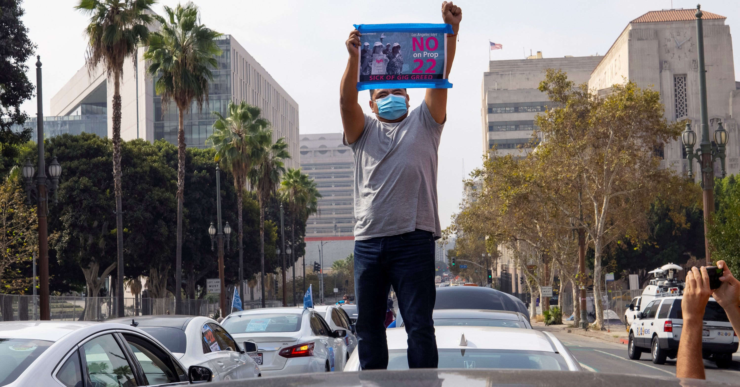 Uber And Lyft Spent Hundreds Of Millions To Win Their Fight Over Workers' Rights. It Worked.