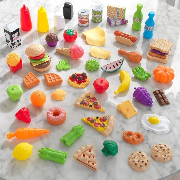 all the different toy foods