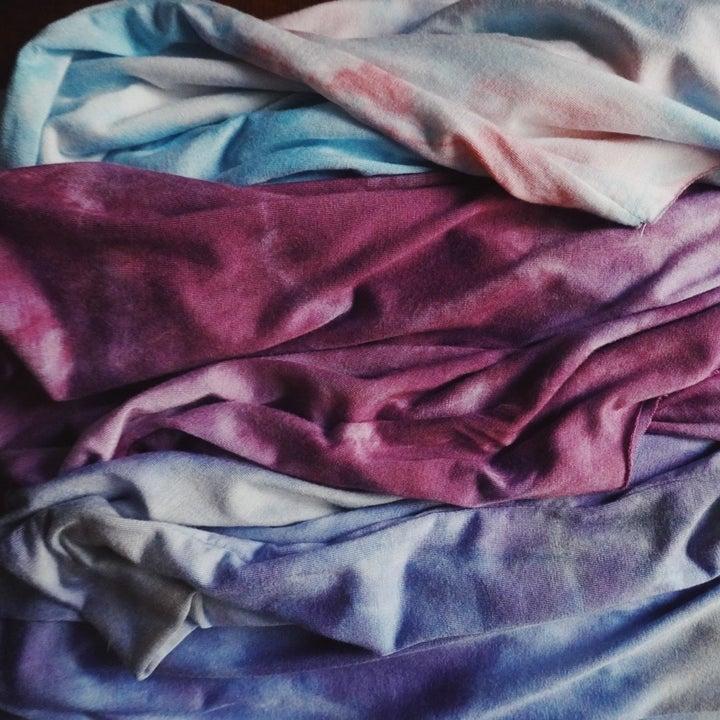 the tie dye sweaters