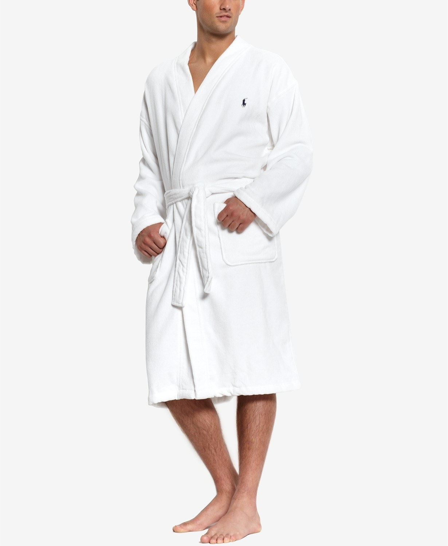 the robe in white