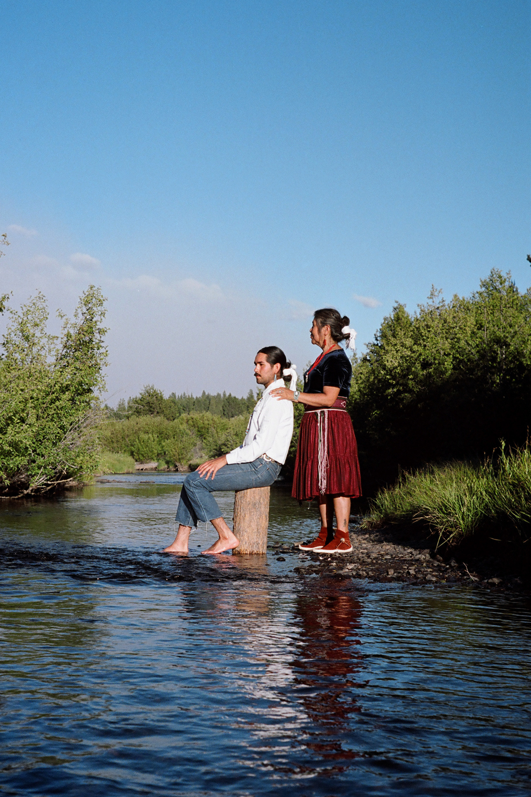 shimá ayóó (mother's love), taken on ancestral lands of the Yahooskin and Northern Paiute