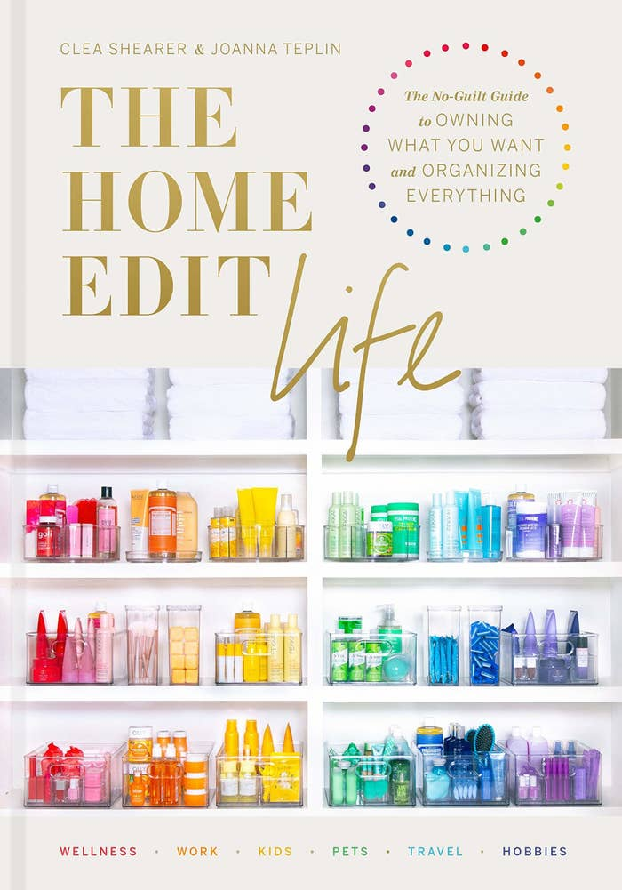 The book cover for The Home Edit Life