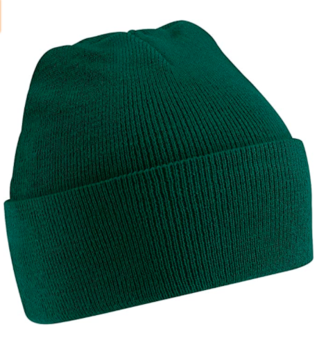 A classic toque on a simple background