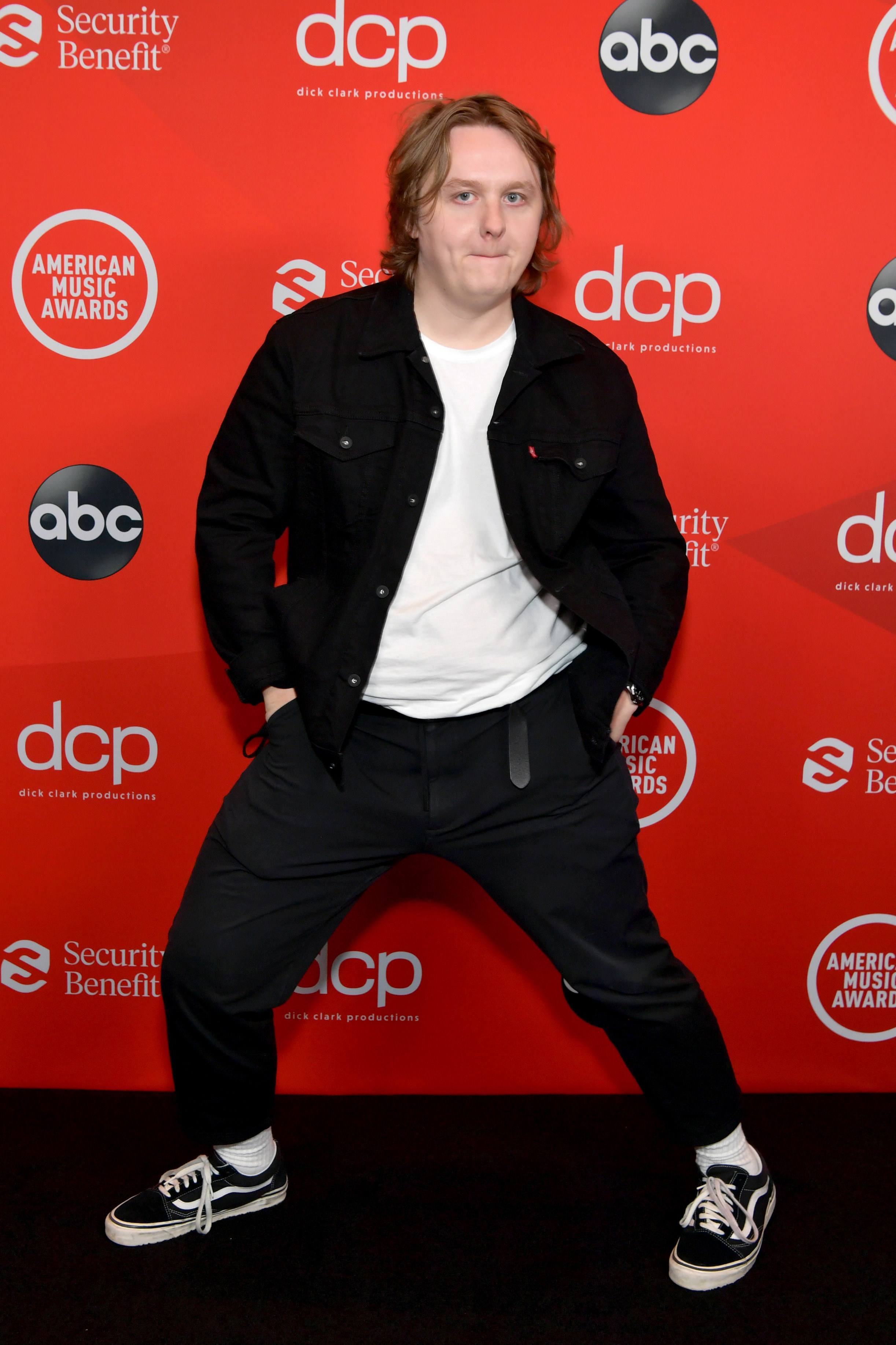 Lewis Capaldi attends the 2020 American Music Awards