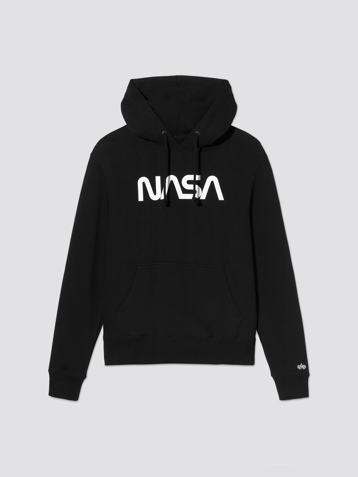 the nasa ii hoodie in black