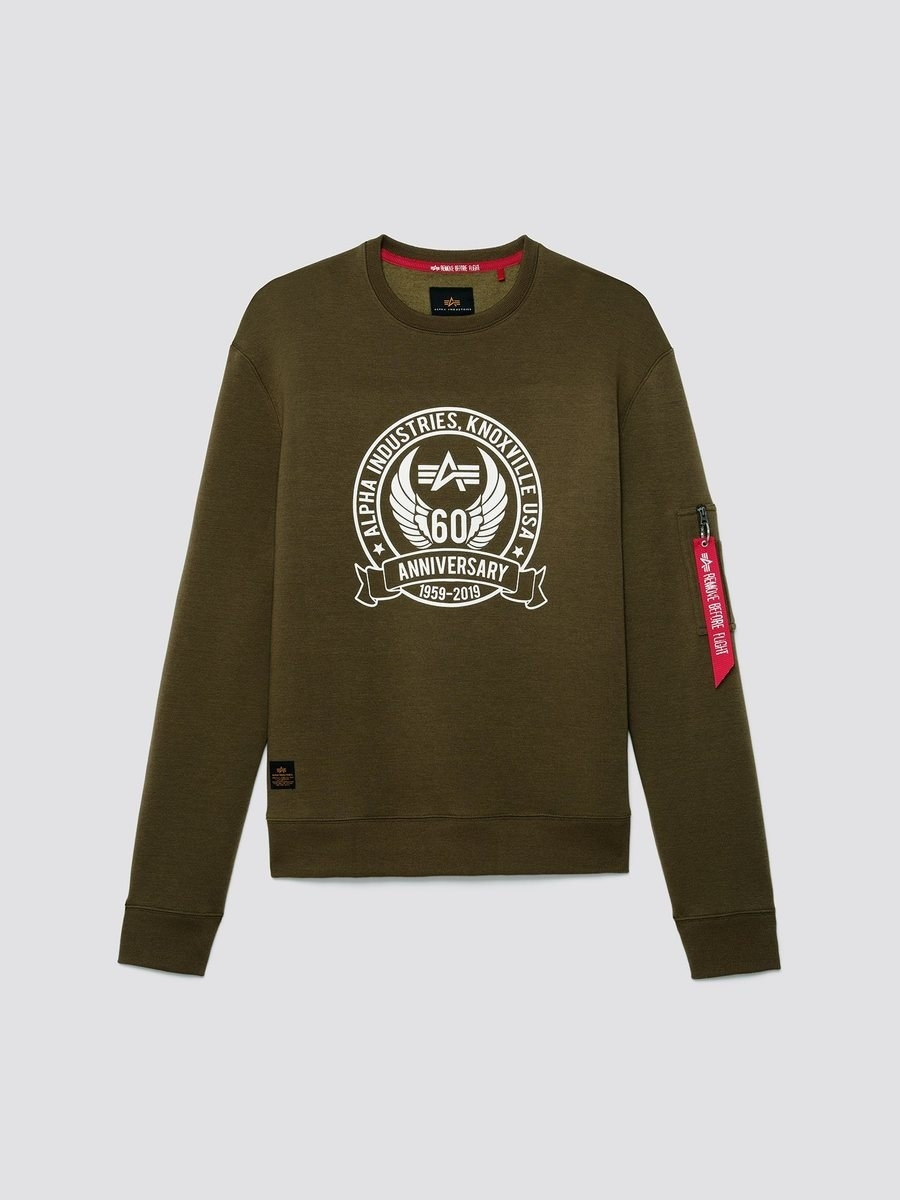 the 60th anniversary crew sweatshirt