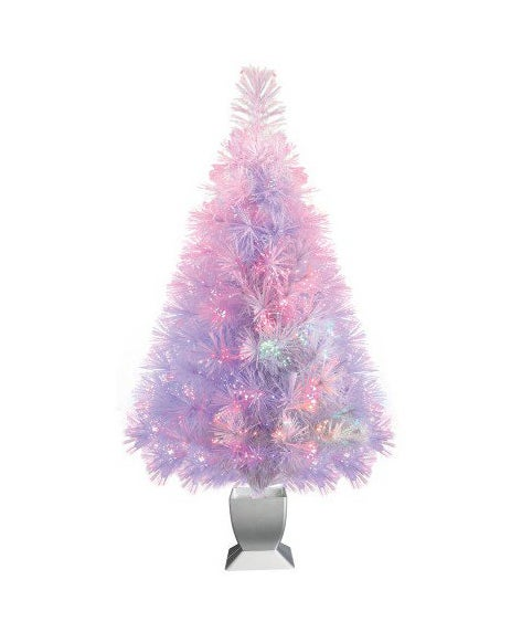 The mini tree in purple and pink