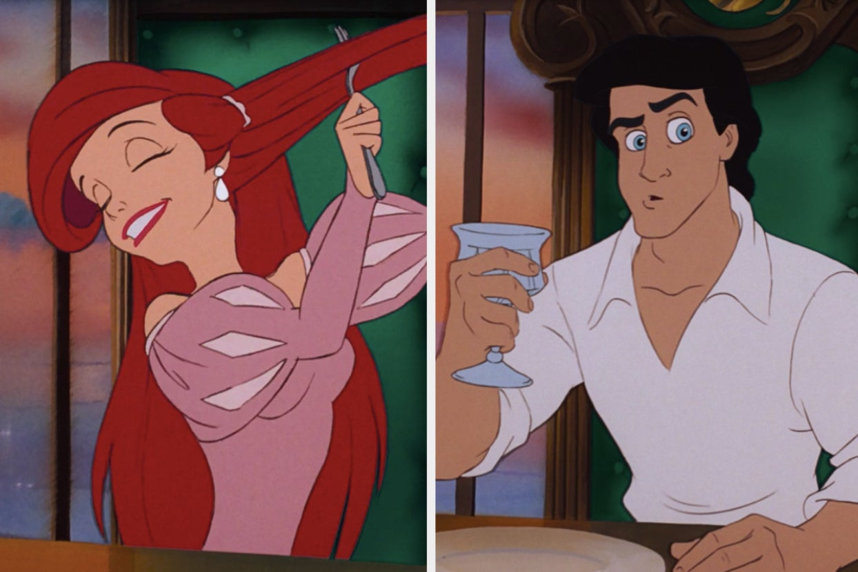"I Rewatched ""The Little Mermaid"" And I'm Sorry, But Ariel And Eric's Relationship Makes No Sense"