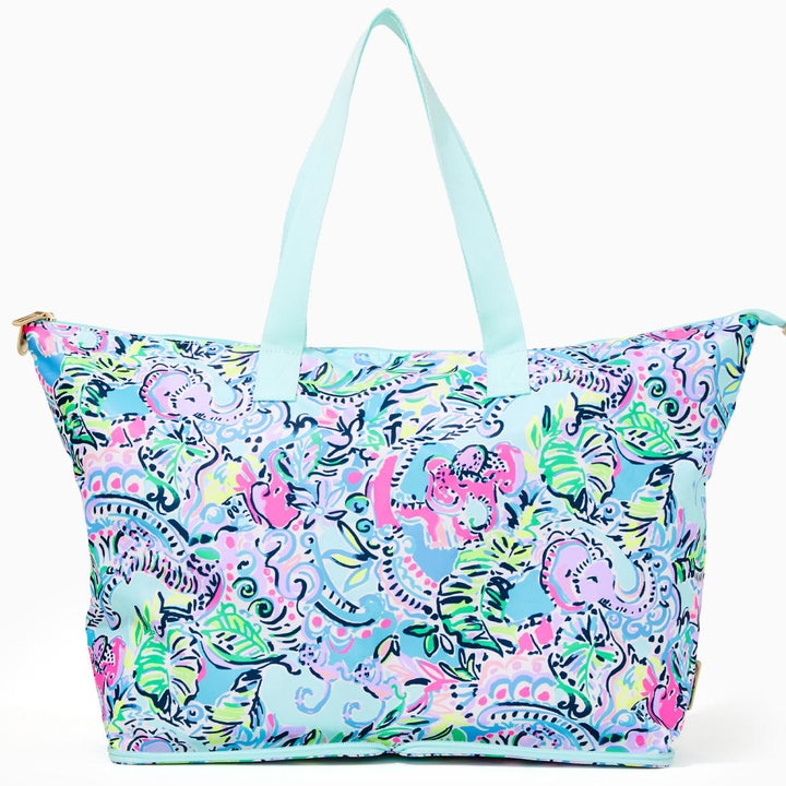 the paisley blue tote