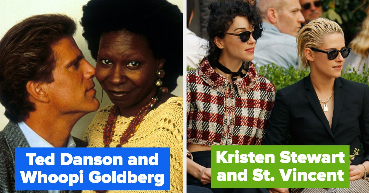 28 Famous Couples I, For One, Cannot Believe Were Actually Together